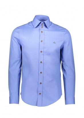 Vivienne Westwood Mens 3 Button Shirt - Blue