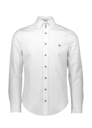 Vivienne Westwood Mens 3 Button Shirt - White