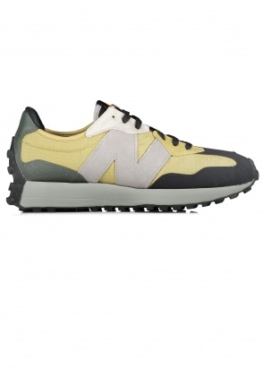 New Balance  327 Trainers - Olive / Black