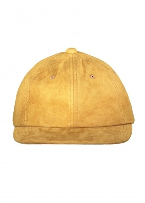 Beams Plus 6 Panel Cap Suede - Camel
