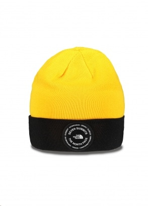 The North Face 7SE Beanie - Yellow / Black