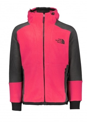 The North Face 94 Rage Fleece Hoodie - Rose Red