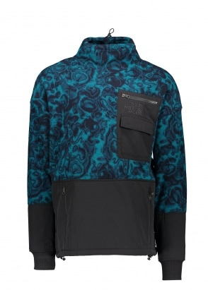 The North Face 94 Rage Fleece Pullover - Blue Coral Rage