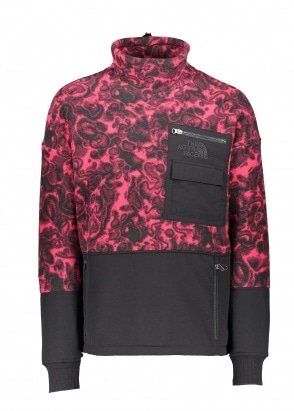 The North Face 94 Rage Fleece Pullover - Rose Red