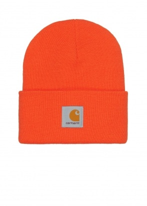 Carhartt WIP Acrylic Watch Hat - Safety Orange