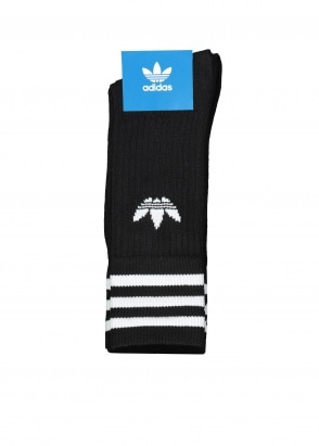 adidas Originals Apparel Solid Crew Sock - Black
