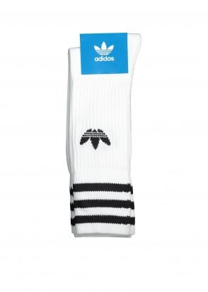 adidas Originals Apparel Solid Crew Sock - White