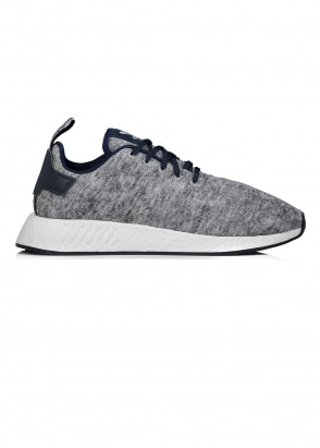 adidas Originals x United Arrows & Sons NMD R2 UAS - Heather / Silver / White