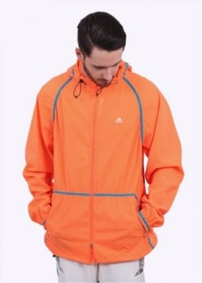 Adidas x Kolor Woven Jacket - Solar Orange / Aqua