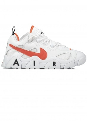 Nike Footwear Air Barrage Low - White / Team Orange