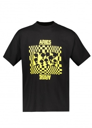 Aries  Alien Family SS Tee - Black