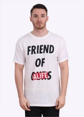 Alife Friend Of Ours Tee - White