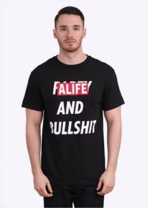 Alife Party & Bullshit Tee - Black