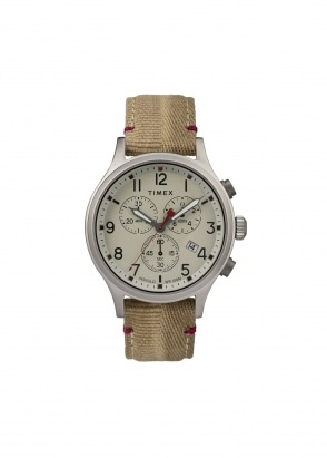 Timex Allied Chrono 42mm - Beige / Khaki
