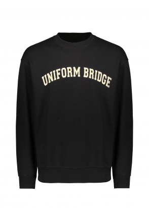 Uniform Bridge Arch Logo Sweat - Black