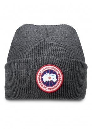 Canada Goose Arctic Disc Toque Hat Iron On