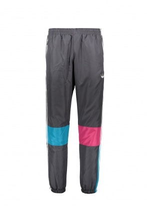 adidas Originals Apparel Asymm Track Pants - Carbon / Berry