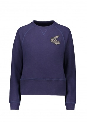Vivienne Westwood Athletic Sweatshirt Navy XXS