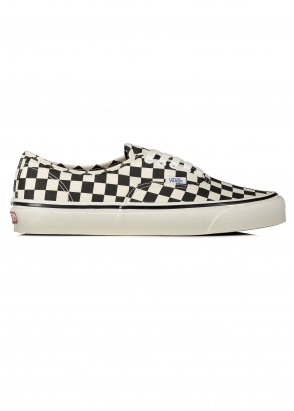 Vans Authentic 44 DX Checkerboard Shoes - Black