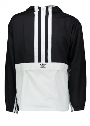 adidas Originals Apparel Authentic Anorak - Black / White