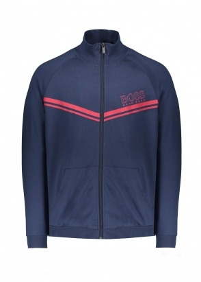 BOSS Bodywear Authentic Jacket Z 402 - Dark Blue