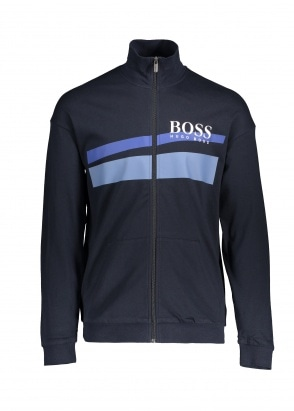BOSS Bodywear Authentic Jacket Z 403 - Dark Blue