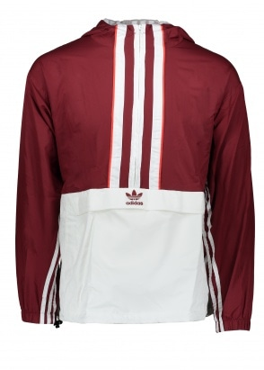 adidas Originals Apparel Authetic Anorak - Maroon