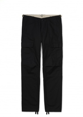 Carhartt WIP Aviation Pant - Black Rinsed