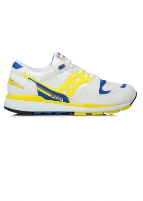 Saucony Azura Trainers - Yellow / Blue