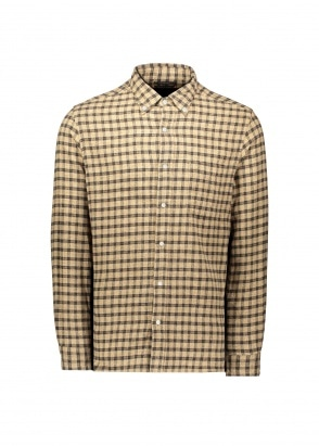 Beams Plus B.D Flannel Check Shirt - Small Check