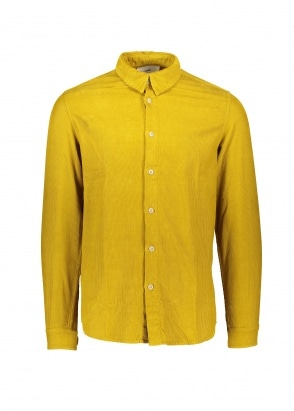 Folk Babycord Shirt - Golden Yellow