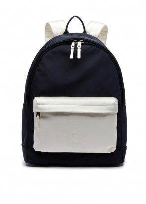 Lacoste Backpack - Black / White