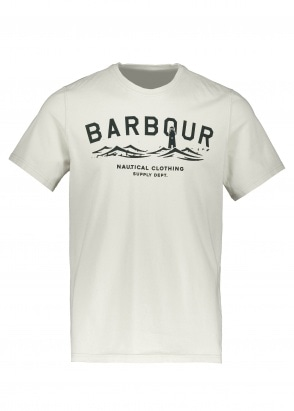 Barbour Bressay Tee - Whisper White