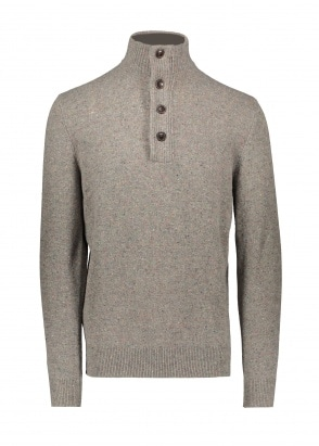 Barbour Colton Half Zip - Wild Sage