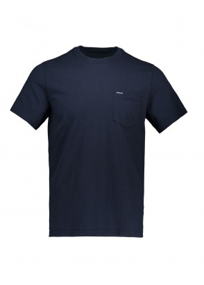 Barbour Logo Pocket Tee - Navy
