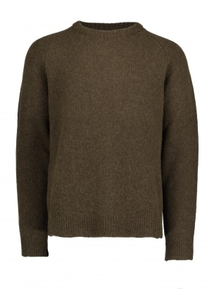 Our Legacy Base Roundneck Sweat - Dark Olive