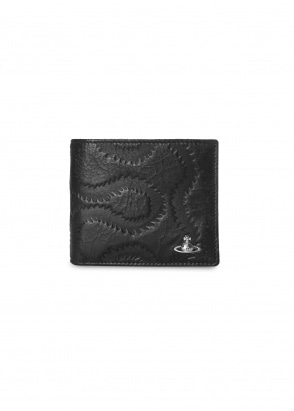 Vivienne Westwood Accessories Belfast Billfold Wallet - Black