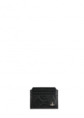 Vivienne Westwood Accessories Belfast Slim Card Holder - Black