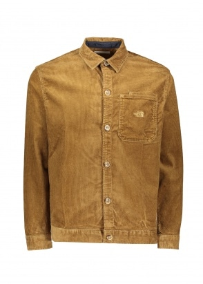The North Face Berkley Cord Overshirt - Utility Brown