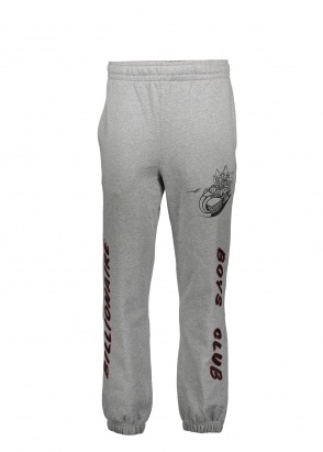 Billionaire Boys Club Rocket Riot Sweatpant - Heather Grey