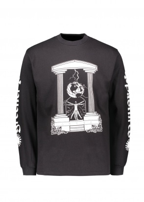 Aries  Biology LS Tee - Black