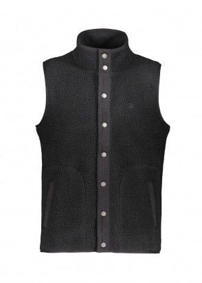 Gramicci  Boa Fleece Vest - Black