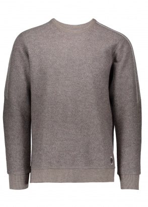 Adidas by Wings+Horns Bond Wool LS Crew - Brown