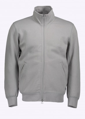 adidas Originals Apparel Bonded Interlock FZ Jacket - Grey