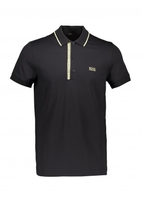 Boss Paule Polo Shirt - Black
