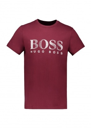 Boss T-Shirt RN 603 - Dark Red