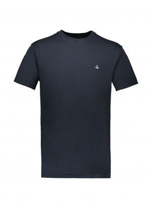 Vivienne Westwood Mens Boxy T-Shirt - Navy