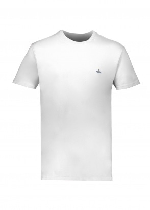 Vivienne Westwood Mens Boxy T-Shirt - White