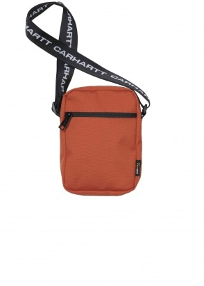 Carhartt WIP Brandon Shoulder Pouch Brick Orange