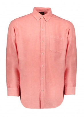Stan Ray Brooklyn LS Shirt - Peche
